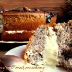 Tort orzechowy z serkiem mascarpone