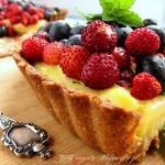 Tarta razowa z owocami