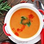 Pyszna paprykowa zupa-krem