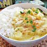 Ryba w kokosowym sosie curry