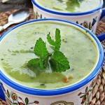 Zupa-krem z cukinii i czosnku