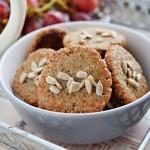 Ciasteczka bez mąki ze słonecznikiem