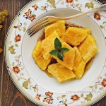 Kopytka z serem i dynią