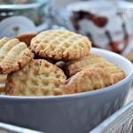 Ciasteczka jaglane z cynamonem i kokosem