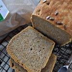 Chleb pszenno-orkiszowy na suchym zakwasie