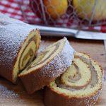 Szybkie ciasto – rolada z jabłkami