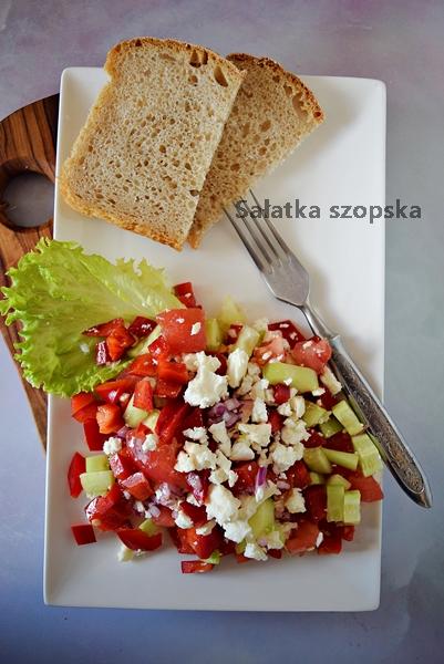 Bałkańska sałatka szopska